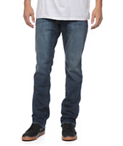 Empyre Skeletor Coastal Blue Slim Fit Jeans
