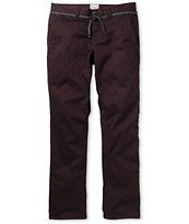 Empyre Skeletor Dark Berry Skinny Chino Pants