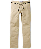 Empyre Skeletor Khaki Skinny Stretch Chino Pants