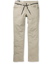 Empyre Skeletor Light Khaki Denim Skinny Jeans