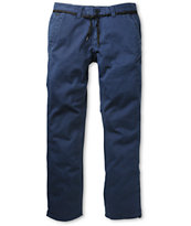 Empyre Skeletor Navy Skinny Chino Pants