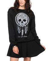 Empyre Skull Catcher Crew Neck Sweatshirt
