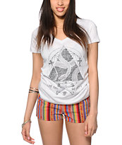 Empyre Snake Triangle V-Neck Tee
