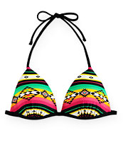 Empyre Soak Up The Sun Rasta Molded Cup Bikini Top