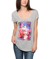 Empyre Soma Live In The Moment Dolman Tee