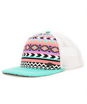 Empyre Spirit Pink & Tribal Print Trucker Hat