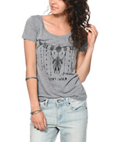 Empyre Stay Wild Scoop Neck T-Shirt