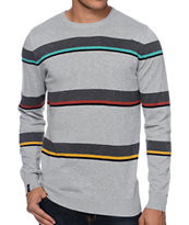 Empyre Stop Light Grey Stripe Sweater