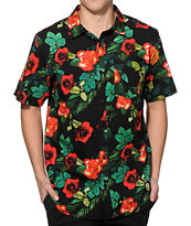 Empyre Super Thorn Flower Button Up Shirt