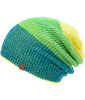 Empyre Tabor Neon Lime Green Reversible Beanie