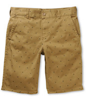 Empyre Take A Walk Diamonds Khaki Shorts