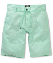 Empyre Take A Walk Mint Chino Shorts