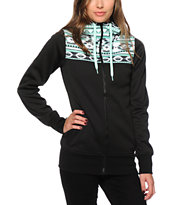 Empyre Tenney Aztec Print Tech Fleece Jacket