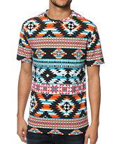 Empyre Tex Tribal Print T-Shirt