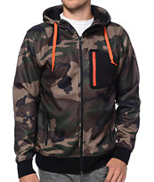 Empyre The Riot Camo Tech Fleece Hooded Jacket