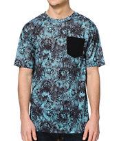 Empyre Tilson Green Tie Dye Pocket T-Shirt