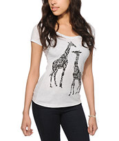 Empyre Tribal Giraffes T-Shirt