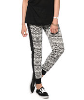 Empyre Tribal Print Jogger Pants