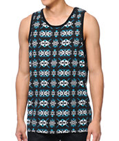 Empyre Tribe Jive Black Tank Top