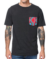 Empyre Trino Black Pocket Tee Shirt