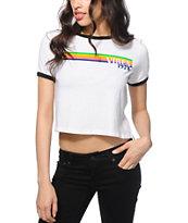 Empyre Vibes 78 Crop Ringer T-Shirt