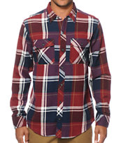 Empyre Wake Plaid Flannel Shirt