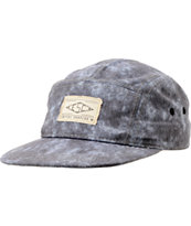 Empyre Washed Black 5 Panel Hat
