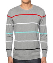 Empyre White Walls Stripe Sweater