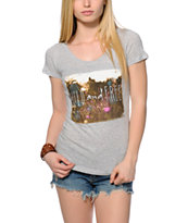 Empyre Wild Bouquet Heather Grey T-Shirt