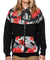 Empyre Wintertide Tropical Zip Up Hoodie