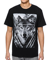 Empyre Wolf Man Black Tee Shirt