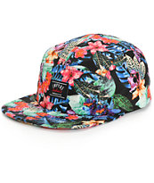 Empyre Wonderland Floral 5 Panel Hat