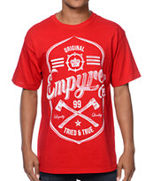 Empyre Woodsman Red & White Tee Shirt