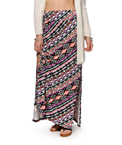 Empyre Yasmin Multi Tribal Maxi Skirt