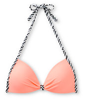 Empyre Zig Zag Coral Molded Cup Bikini Top