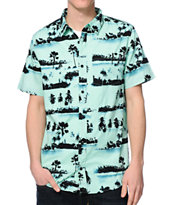 Empyre Zing Mint Button Up Shirt