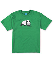 Enjoi Boys Original Panda Green Tee Shirt
