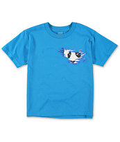 Enjoi Boys Shredder Turquoise Tee Shirt