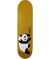 Enjoi Gold Panda 8.1 Skateboard Deck