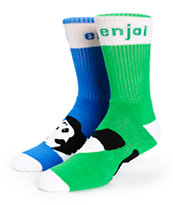 Enjoi Odd Feeture Crew Socks