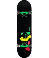 "Enjoi Rasta Panda Mini 7.0"" Skateboard Complete"