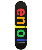 Enjoi Spectrum Logo 8.0 Team Deck Skateboard Deck