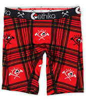 Ethika Flannel Boxer Briefs