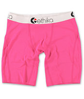 Ethika The Staple Hot Pink Boxer Briefs