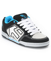 Etnies Charter Black, White & Blue Skate Shoe