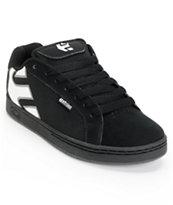 Etnies Fader Black, White, & Gum Skate Shoe