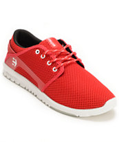 Etnies Scout Red Shoe