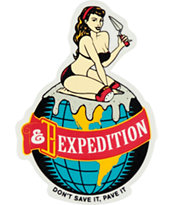 Expedition One Pave It Sticker