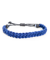 Fad Treasures Blue Medium Braided Bracelet