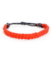 Fad Treasures Red Medium Braided Bracelet